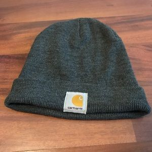 Dark Gray Carhartt Beanie Hat